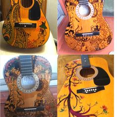 Sharpie Guitars by me.