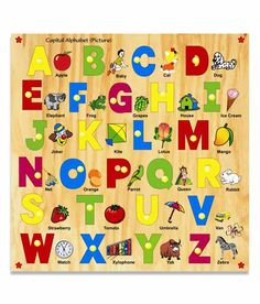Kinder Creative Capital Alphabets With Knobs