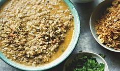 Yotam Ottolenghi's urad dal with coconut and coriander - and other spice blends