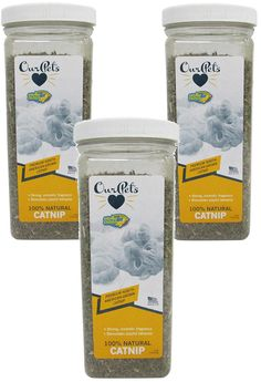 OurPets Premium North-American Grown Catnip, 4-Ounce Jar (3 Pack) * Remarkable product available now. : A - N - I - M - A - L - S ~~ PINS FRIENDS