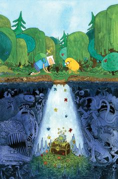 Taps Webcomic Superstars For 'Adventure Time' And 'Marceline' Variant Covers Adventure Time Finn, Adventure Time Comics, Adventure Time Poster, Adventure Cartoon, Adventure Movies, Nature Adventure, Abenteuerzeit Mit Finn Und Jake, Finn Jake, Cartoon Network