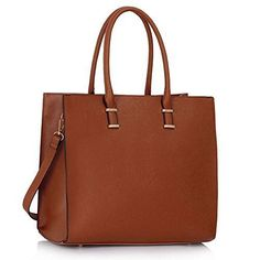 Womens Fashion Tote Shoulder Bags Ladies Large Designer Faux Leather New Handbag *** Read more  at the image link.