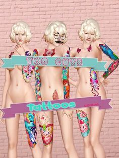 Sailor Moon Clothing, Tattoos, Decor and More by Sushi Roll Sims