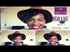 6 Ways to Wear a Hat With Natural Hair + Agave Oil Review - Klassy Kinks 1e5790a6849