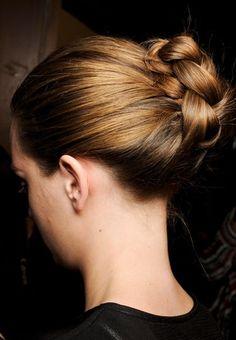 peinados con trenzas para pelo largo