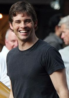 Is commonly confused as being the brother of actor Jason Marsden. Although the two are not related, they are actually good friends and their respective wives have been friends since they were six Actors Male, Actors & Actresses, Male Celebrities, Celebs, All American Boy, James Marsden, Actor James, Great Smiles, Sharp Dressed Man