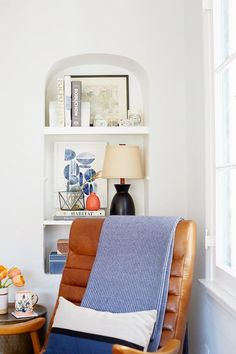 """""""I love how calm it feels in here and how much natural daylight pours in,"""" she said. """"We lived with the rooms being white for the first year, but painting the dining room took that space to the..."""