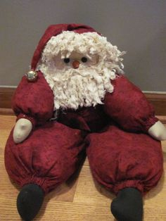 PREHOLIDAY SALE St. Nick is a 22 inch soft by CaysCollectibles, $14.99