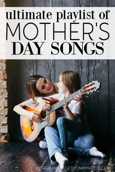 These Mother's Day Songs are perfect for the big day! If you're looking for a way to celebrate, you'll love these songs about mom. Whether you're looking for a Mother's Day playlist, Country Songs for Mom, or just some great mom songs, these are for you. The Ultimate Mother's Day Songs Playlist If you're looking […] The post The Ultimate Mother's Day Songs Playlist – Songs About Mom appeared first on Morgan Manages Mommyhood. Like My Mother Does, Mothers Love, Mothers Day Songs, Mom Song, Girl Power Songs, Mother Son Relationship, Upbeat Songs, Lady In My Life, Song Playlist