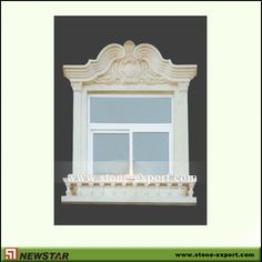 Doorand window surround made by Newstar stone  Email:king@newstarchina.com Web: www.stone-export.com
