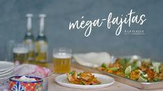 Méga-fajitas à la plaque Quebec, My Recipes, Favorite Recipes, Panini Sandwiches, Fish And Seafood, Enchiladas, Chili, Buffet, Plaque