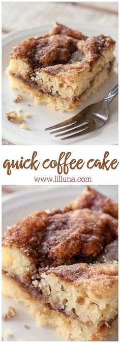 The BEST and EASIEST Coffee Cake Recipe! Super moist and delicious!