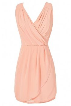 This dress is as soft, sweet, and romantic as a rose! The Bring Me Roses Cross Back Chiffon Dress has a crossover V neckline with pintuck detailing at waist. This would be a Cute Peach Chiffon Dress, a Peach Chiffon Party Dress, and Cute Juniors Dress. Dresses For Teens, Simple Dresses, Beautiful Dresses, Casual Dresses, Summer Dresses, Summer Clothes, Lilac Bridesmaid Dresses, Peach Dresses, Bridesmaids