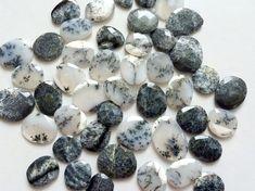WHOLESALE 20 Pcs Dendrite Opal Cabochon Dendrite by gemsforjewels