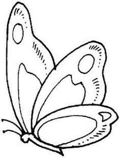 Butterfly Coloring Pages Free Printable Coloring Pages For Kids Preschool Coloring Pages, Animal Coloring Pages, Free Printable Coloring Pages, Coloring Book Pages, Coloring Pages For Kids, Free Coloring, Colouring, Butterfly Quilt, Butterfly Drawing