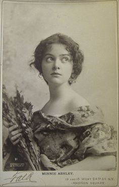Beautiful Victorian stage actress Belle Archer looking heartbreakingly blue in this lovely photograph of her in her youth. Description from pinterest.com. I searched for this on bing.com/images