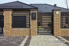 nowoczesne ogrodzenie domu