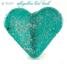 Making Jewelry for Valentine's Day? Teal Heart, starting at $9.