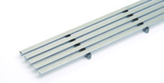 Lines Shower Drain Cover   QuickDrain USA