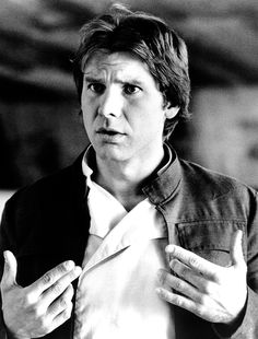 No one does this look better than Harrison Ford as Han Solo Star Wars Pictures, Star Wars Images, Harrison Ford, Saga, Millenium, Millennium Falcon, Han And Leia, Star Wars Han Solo, Star Wars Wallpaper