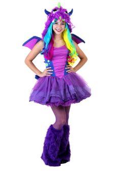 Teen Darling Dragon Halloween Costume