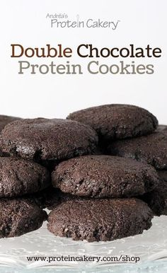 Double Chocolate Protein Cookie Mix - low carb, high protein, gluten free - Andréa's Protein Cakery