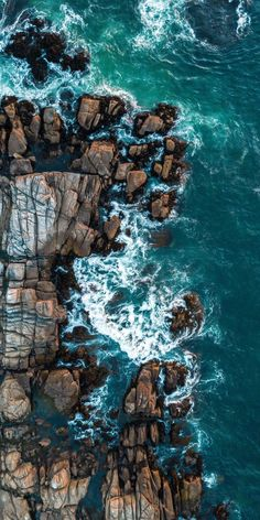 Water Blue Turquoise Rock Sea Azure - Best of WallPaper - Ocean Wallpaper, Summer Wallpaper, Aesthetic Iphone Wallpaper, Nature Wallpaper, Aesthetic Wallpapers, Wallpaper Backgrounds, Aerial Photography, Beach Photography, Landscape Photography