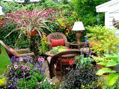 オリエンタルな雰囲気のバルコニーガーデン - Google 検索