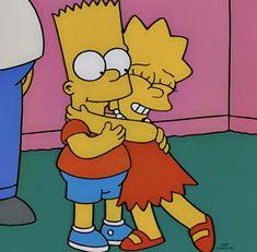 Bart y Lisa Cartoon Wallpaper, Simpson Wallpaper Iphone, Simpsons Drawings, Simpsons Art, The Simpsons Tumblr, Cartoon Icons, Cartoon Memes, Lisa Y Bart, Vintage Cartoon