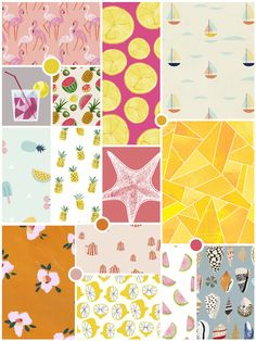 Feeling Inspired - Summer Prints and Patterns - The White Corner Creative