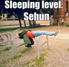 Oh Sehun XD See this is why Sehun is my 2nd bias (Kris being my 1st hehe) #EXO