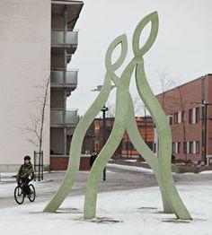 Oulun taidemuseo - julkiset ulkoveistokset