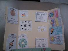 Solar System lapbook!!