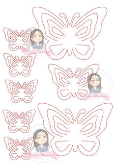 Give an up on your environment with these perfect paper butterflies! Origami Butterfly Easy, Butterfly Template, Leaf Template, Butterfly Baby, Butterfly Crafts, Flower Crafts, Owl Templates, Crown Template, Butterfly Mobile