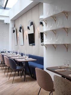 Bachaumont Restaurant - Hotel Bachaumont (Paris) Designers - Chzon (France)