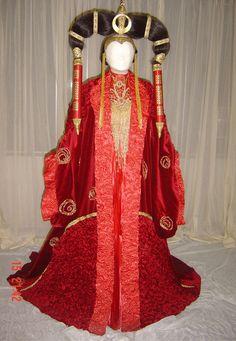 Queen Amidala's senat gown by ~azdaja on deviantART