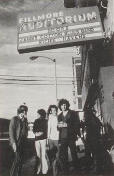 Late 1960s - The Doors at the Fillmore Auditorium in San Francisco
