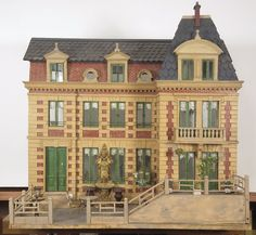 A Hunting Lodge at Versailles American, 20th century dollhouse.