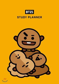 55 Ideas Bts Wallpaper Iphone Study For 2019 Bts Chibi, Bts Wallpaper, Iphone Wallpaper, Study Planner, Bts Drawings, Cartoon Drawings, Line Friends, Bts Fans, Cute Cartoon Wallpapers