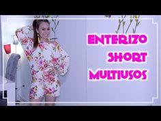 Omaira tv- DIY Enterizo Short Multiusos -  Enterizo Multipurpose Short