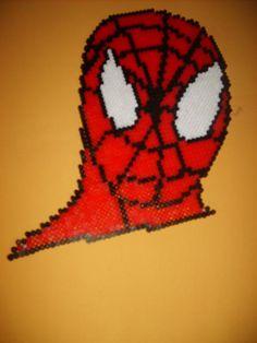 Spiderman perler beads by N.van der Berge - Perler® | Gallery