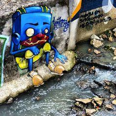 IGNOTO - Vila Madalena, SP - Foto: Sampa Graffiti