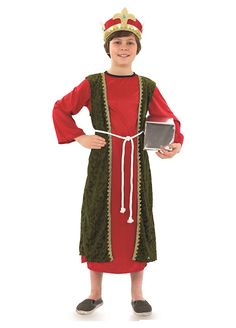 Red Wise Man childrens dress up costume by Fun Shack