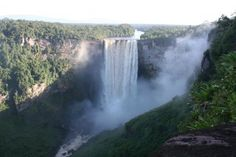 Planning a visit to Kaieteur Falls in November with Mom and Bup! Excitement!