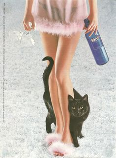 Skyy Vodka Black Cat Ad
