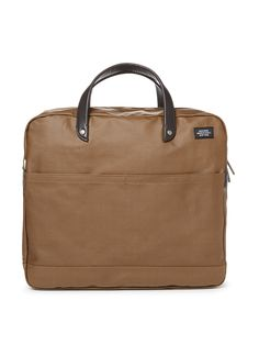 Coated Canvas Caryall - Jack Spade - gilt - $135