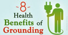 Grounding is the electrically conductive contact of body with the surface of the Earth, like when you're simply walking barefoot outside, and touching the grass. http://articles.mercola.com/sites/articles/archive/2015/11/21/grounding-effects.aspx