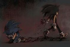 Sonic the hedgehog and Sonic.EXE