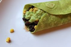 Black Bean Burritos | 35 Meatless Monday Recipes For People Who Hate Tofu