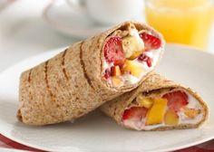 Healthy & Delicious Fruity Breakfast Wrap Recipe!